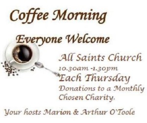coffee morning all saints