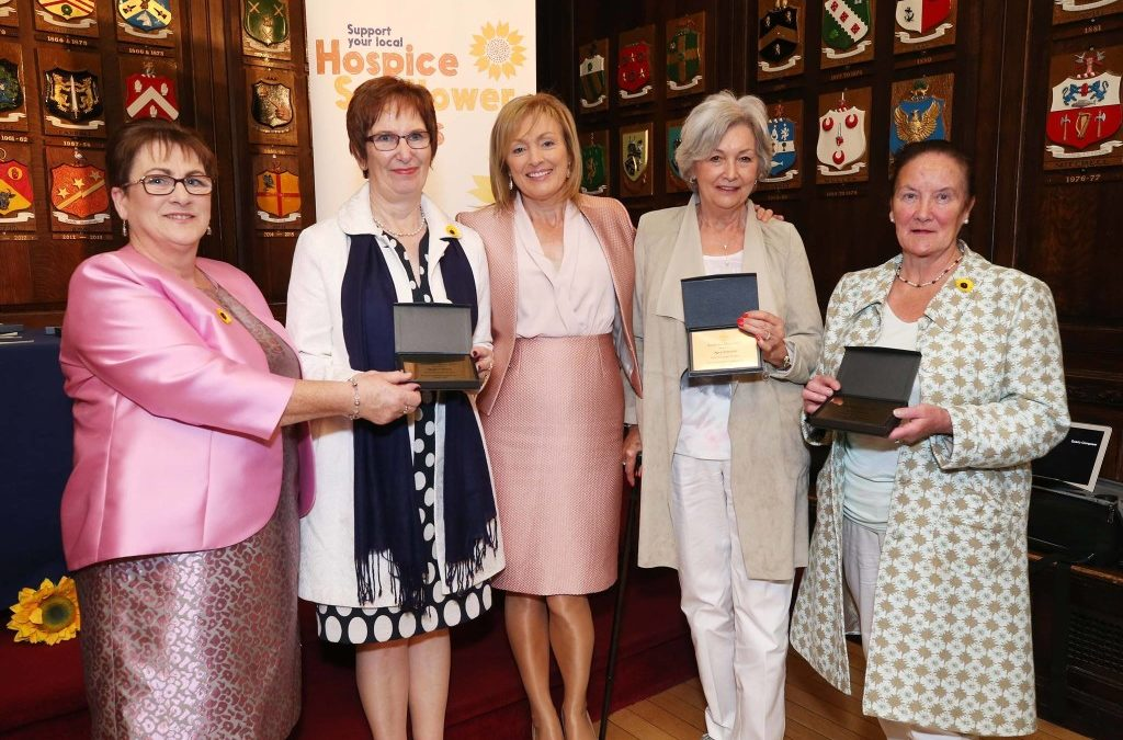 Three North Westmeath women receive 'Hospice Sunflower Hero' awards for contribution to hospice care