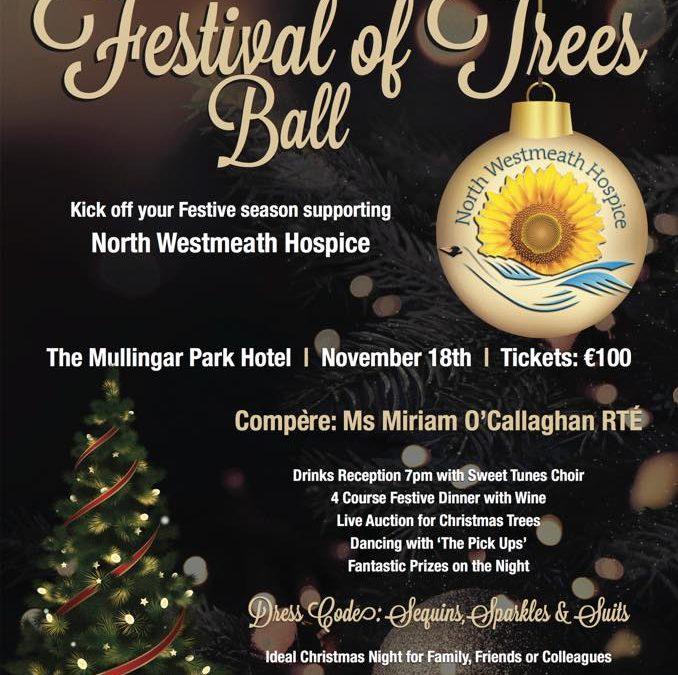 Festival Of Trees Ball 18th November Mullingar Park Hotel
