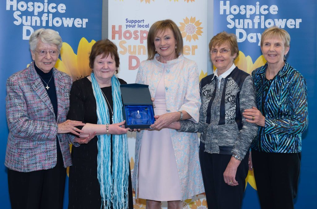 Four North Westmeath women receive 'Hospice Sunflower Hero' awards for contribution to hospice care